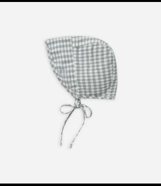 Rylee + Cru Gingham Brimmed Bonnet