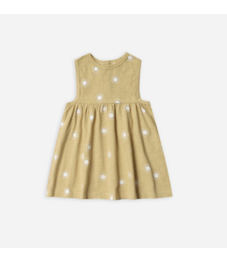 Rylee + Cru Sunburst Layla Dress Citron