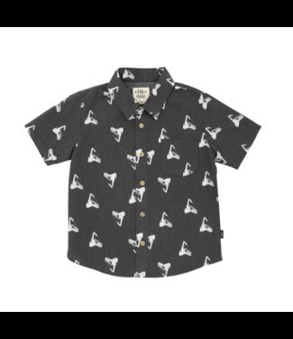 Feather 4 Arrow Shark Tooth S/S Woven Shirt