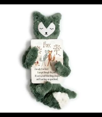 Slumberkins Fox Snuggler-Silken Green
