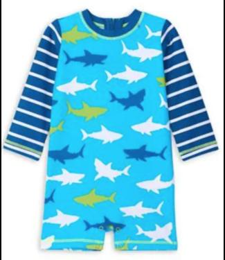 Hatley Great White Shark Baby Onepiece Rashguard