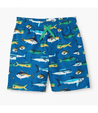 Hatley Game Fish Swim Trunk