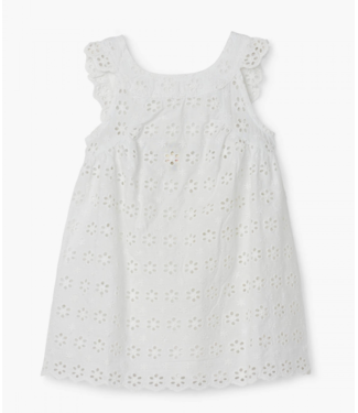 Hatley Spring Blossom White Eyelet Dress