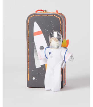 Astronaut Mini Suitcase Doll
