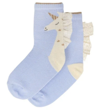 Unicorn Sparkle Socks 3-5Y (Shoe 7-9)