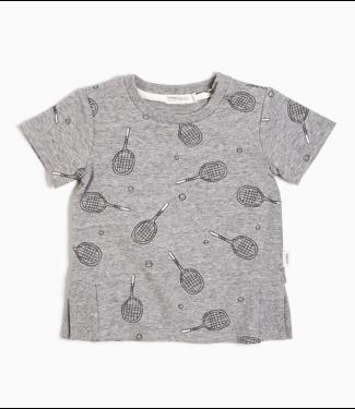 Heather Grey Racquet T-shirt