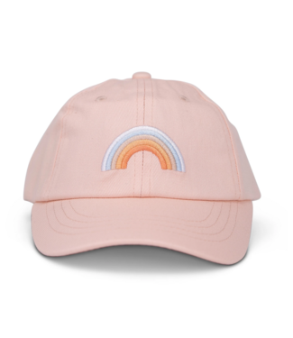 Cash & Co. Blushing Rainbow Hat L/XL