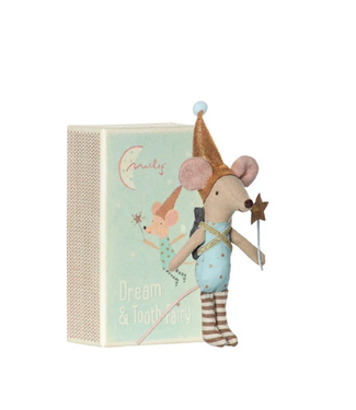 Tooth Fairy Mouse in Box- Boy