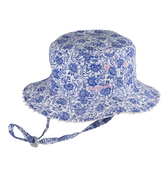 Kaya Blue Bucket Hat