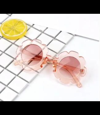 Sally Sunglassess Clear Pink