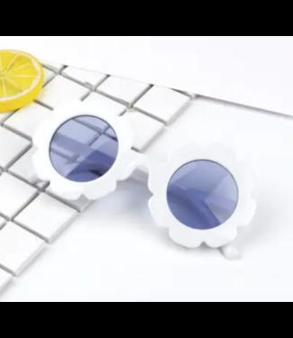 Sally Sunglasses White