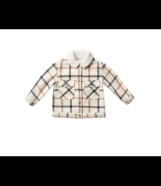 Rylee + Cru julian jacket natural