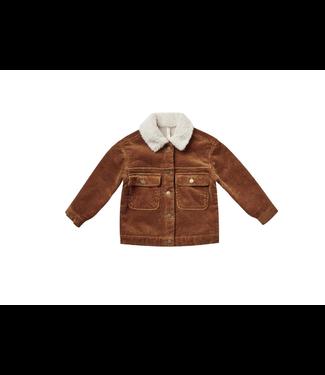 Rylee + Cru corduroy julian jacket cinnamon