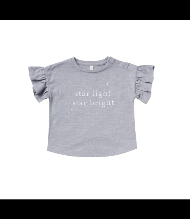 Rylee + Cru Periwinkle Star Light Flutter Tee