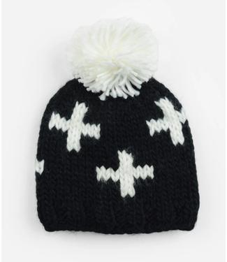 Blueberry Hill Miko Swiss Cross Knit Hat