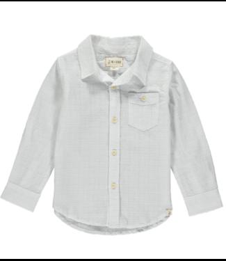 Me & Henry White L/S Shirt