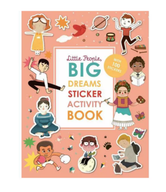 Sticker Activity Book- Little People Big Dreams