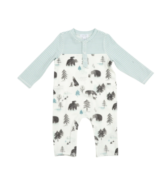 Angel Dear Mama and Cubs Romper and Pockets