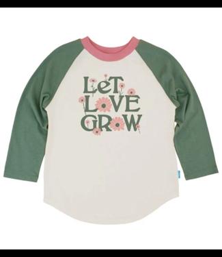 Feather 4 Arrow Let Love Grow Raglan