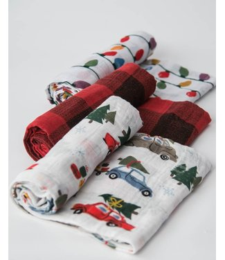 Little Unicorn Seasonal Muslin Swaddle
