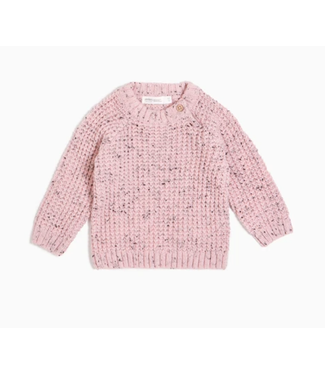 Lt. Pink Heather Knit Sweater