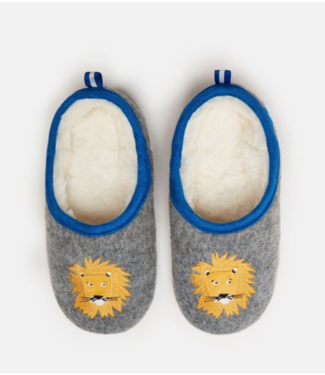 Joules Lion Slipper Gift Set