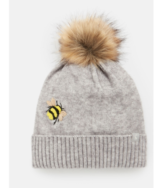 Joules Stafford Grey Bee Hat