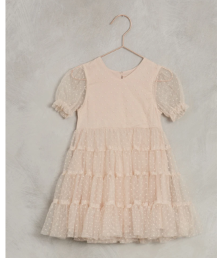 Noralee Light Peach Dottie Dress