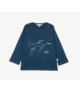 Red Caribou T-Shirt Inner Compas