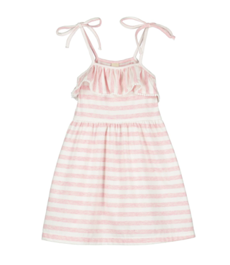 Vignette Bryony Pink Cotton Dress