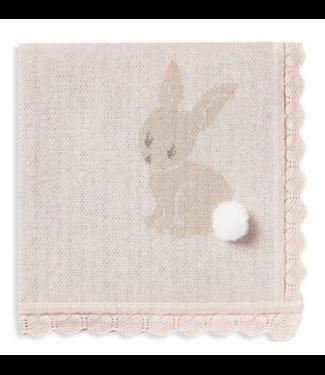 Elegant Baby Bunny Blanket 30x40
