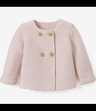 Elegant Baby Pink Cardigan