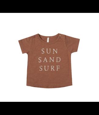 Rylee + Cru Basic Tee Sun and Sand