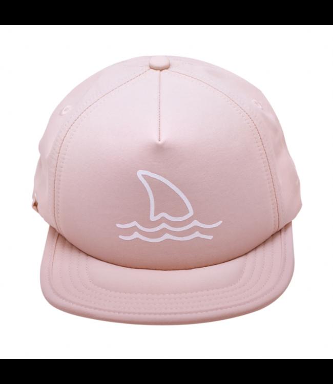 Bitty Brah Blush Shark Fin Trucker/Sun Hat