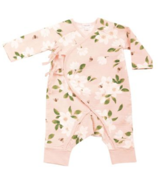 Angel Dear Magnolia Pink Wrap Coverall