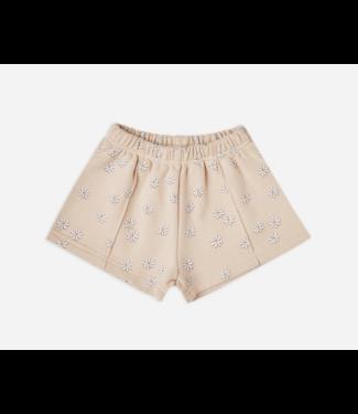 Rylee + Cru Daisy Confetti track shorts