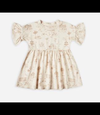 Rylee + Cru Secret Garden Babydoll Dress