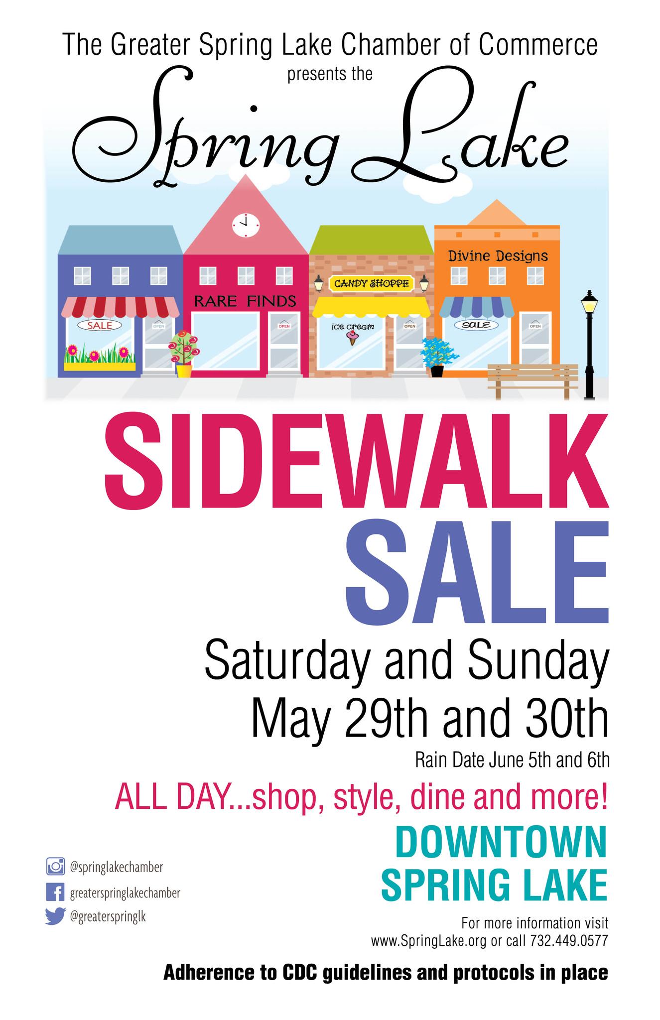 Sidewalk Sale!