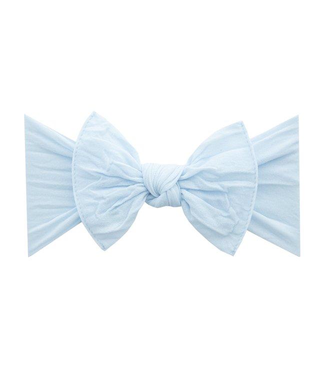 Baby Bling Knot Bow Headband Sky