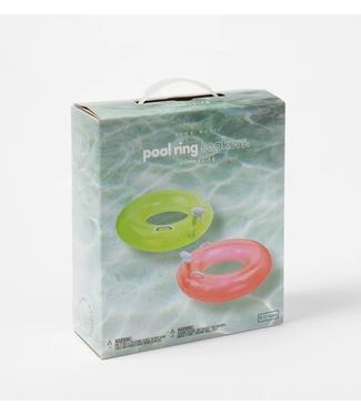 Sunnylife Neon Pool Ring Soaker (2pk)