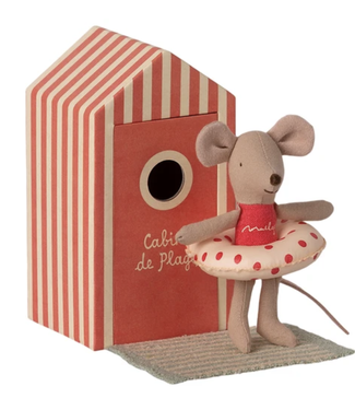 Little Sister Beach Mouse with Cabana