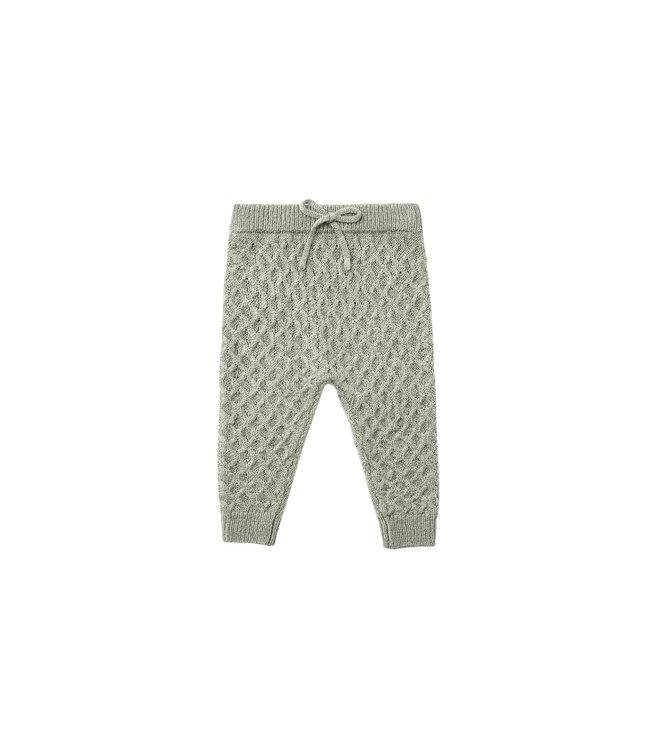 Rylee + Cru Knit Gable Pant : Agave