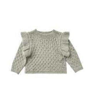 Rylee + Cru La Rena Sweater : Agave