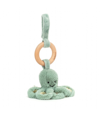 Jellycat Odysssey Octopus Wood Ring Toy