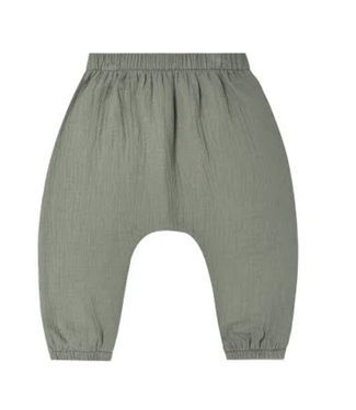 Quincy Mae Woven Pant - Basil