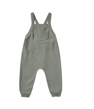 Quincy Mae Knit Overalls - Basil