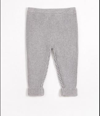 Heather Grey Knit Pant