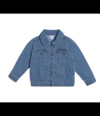Little Boy's Miles Playwear Garage Band Denim Jacket