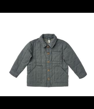 Rylee + Cru Quilted Chore Jacket - Indigo