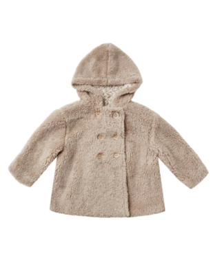 Rylee + Cru Double - Breasted  Coat - Taupe
